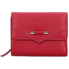 Lagen Dámská kožená peněženka 51623 Raspberry
