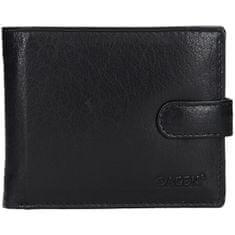 Lagen Pánska kožená peňaženka E-1036 BLK