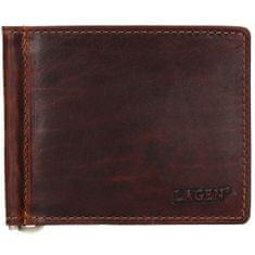 Lagen Pánská kožená dolarovka 5172 BRN