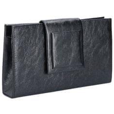 Barolo Dámske listová kabelka 1860 black