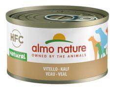Almo Nature HFC DOG teľacie 24 x 95 g