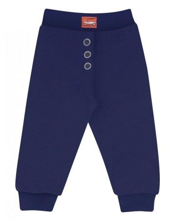 Nini dječje hlače od organskog pamuka, 56, tamno plave