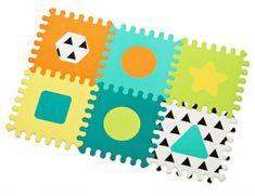 Infantino Puzzle piankowe Kształty