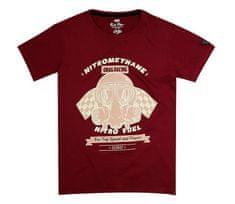 Rusty Pistons tričko RPTSM54 Nitromethane red