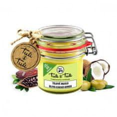 Ťuli a Ťuli Prírodné telové maslo oliva-kakao-kokos