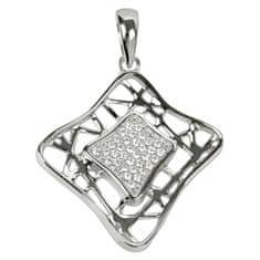 Silver Cat Ezüst medál kristályokkal SC017 ezüst 925/1000