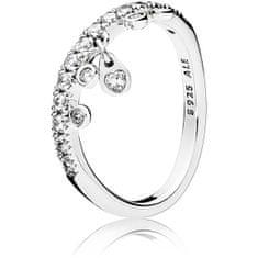 Pandora Csillogó ezüst gyűrű 197108CZ ezüst 925/1000