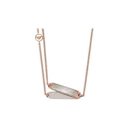 Emporio Armani Luksuzna ogrlica iz fine EGS2097221