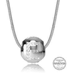Levien Ocelový náhrdelník písmeno E CLET-E