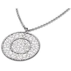 Lotus Style Slušivý ocelový náhrdelník LS1592-1/1