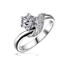 Silvego Stříbrný zásnubní prsten SHZR234 stříbro 925/1000