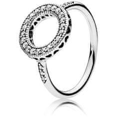 Pandora Ezüst csillogó gyűrű 191039CZ ezüst 925/1000