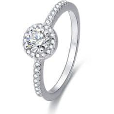 Beneto Ezüst gyűrű AGG194 kristályokkal ezüst 925/1000