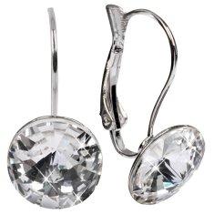 Troli Náušnice Rivoli 12 mm Crystal