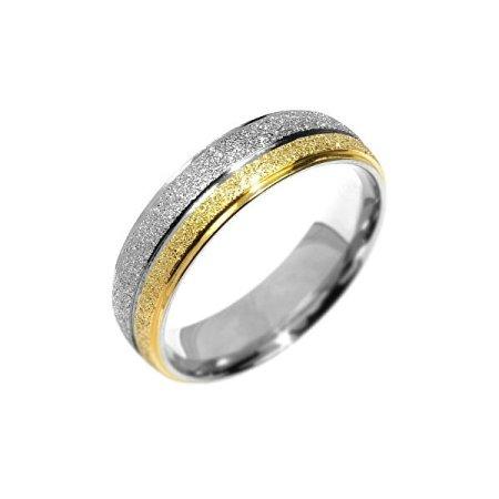 Silvego Stalowy pierścień zaangażowanie Flers RRC0365 (obwód 53 mm)