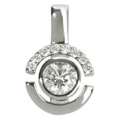 Silver Cat Srebrn obesek s kristali SC080 srebro 925/1000