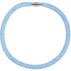 Preciosa Trblietavý náhrdelník Scarlette modrý 7250 58