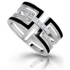 Modesi Luksuzni srebrni prstan M11071 srebro 925/1000