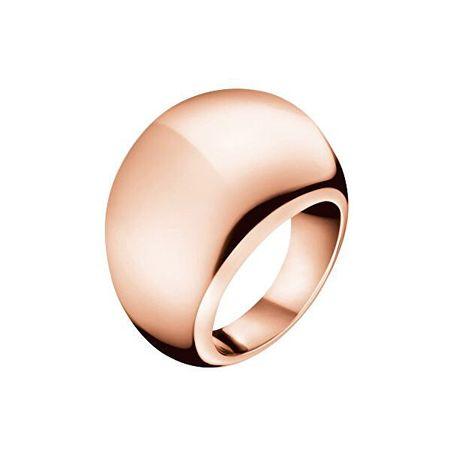 Calvin Klein Bronasti prstan Ellipse KJ3QPR1001 (Obseg 57 mm)