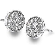 Hot Diamonds Strieborné náušnice Hot Diamonds Emozioni scintilla DE456