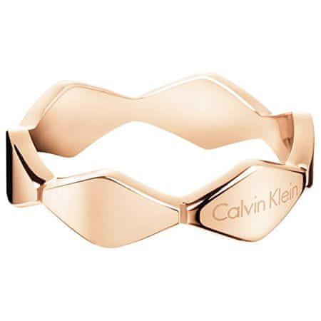 Calvin Klein Vörös arany gyűrűSnake KJ5DPR1001 (Kerület 55 mm)