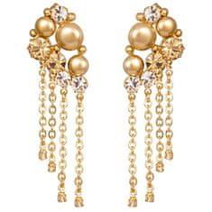 Preciosa Luksuzni pozlačeni uhani Antoinette 2347Y61