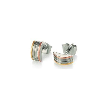Boccia Titanium Aranyozott titán fülbevaló 05006-04