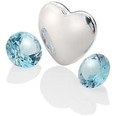 Hot Diamonds Elementno srce s topazom Anais december EX131 srebro 925/1000