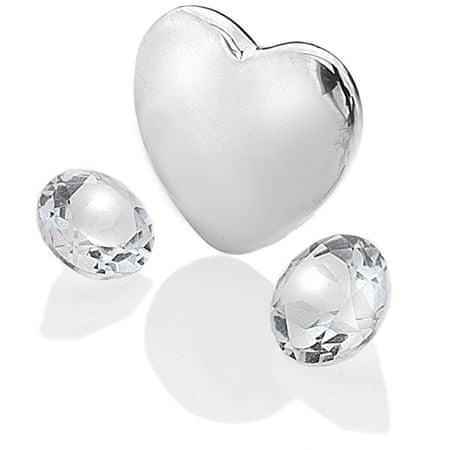 Hot Diamonds Anais szív és topáz elemek - április EX123 ezüst 925/1000