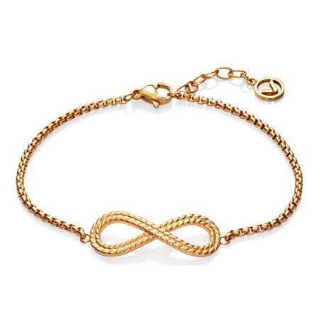 Viceroy Divatos acél karkötő Végtelen szimbólummal 75200P01012 Popular
