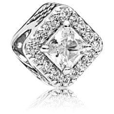 Pandora Csillogó ezüst gyöngy 796206CZ ezüst 925/1000