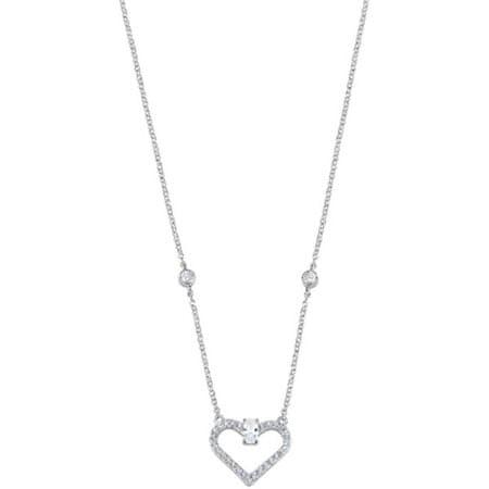 Morellato Romantyczny srebrny naszyjnik Cuori SAIV04 srebro 925/1000