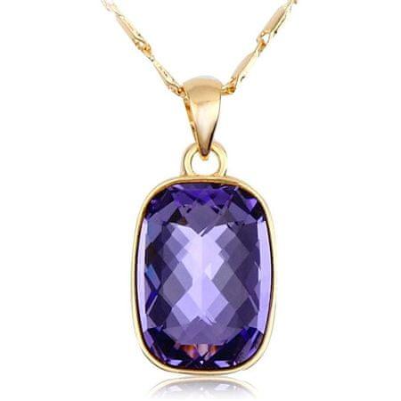 Vicca Ogrlica Nuages temno vijolična OI_105045__purple