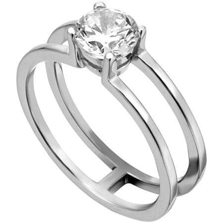 Esprit Srebrni prstan z cirkonom ESRG0010111 (Obseg 57 mm) srebro 925/1000