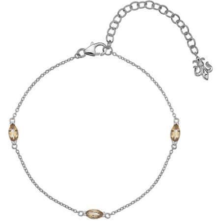 Hot Diamonds Srebrna zapestnica za rojene novembra Anais Citrin AB011