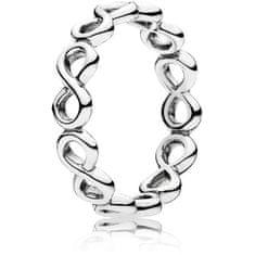 Pandora Stříbrný prsten Nekonečno 190994 stříbro 925/1000