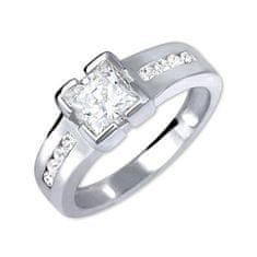 Brilio Silver Strieborný zásnubný prsteň 426 001 00416 04 striebro 925/1000