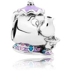 Pandora Disney ezüst gyöngy Ms. Potts és Chip 792141ENMX