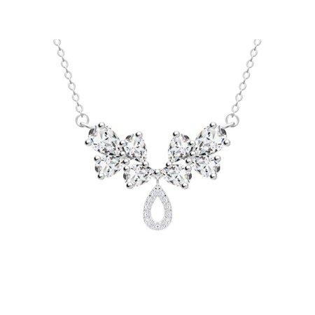 Preciosa Očarljiva ogrlica z tehtnico 5271 00 srebro 925/1000