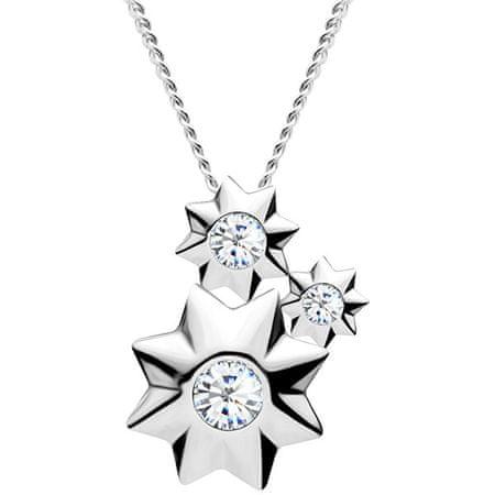 Preciosa Ładny Srebrny Naszyjnik Orion 5245 00 srebro 925/1000