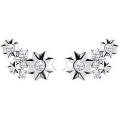 Preciosa Hvězdičkové stříbrné náušnice Orion 5246 00