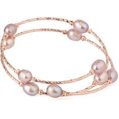 JwL Luxury Pearls Brąz bransoletka z prawdziwymi perłami JL0494