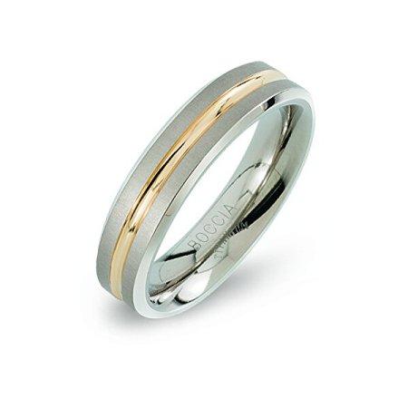 Boccia Titanium Eljegyzési titán gyűrű 0144-02 (Kerület 61 mm-es)