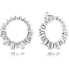 Pandora Csillogó ezüst fülbevalók 297545CZ