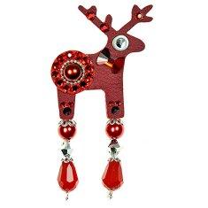 Deers Mali rdeči jelen z kravato Berybella