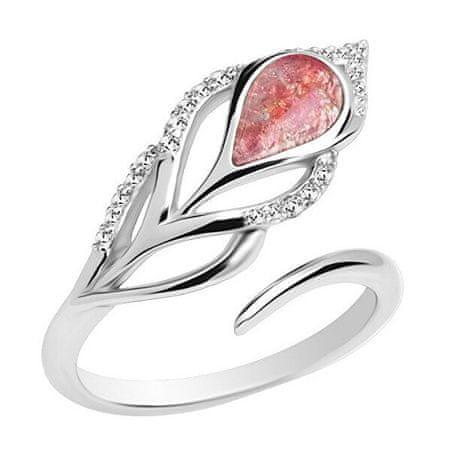 Preciosa Srebrny pierścionek Penna 6105 69 srebro 925/1000