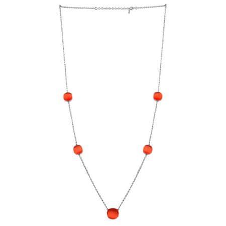 Morellato Szép nyaklánc, macskaszemekkel díszítve SAKK107 ezüst 925/1000