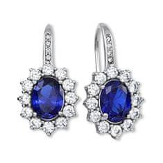 Brilio Silver Prekrásne náušnice princezny Kate Middleton 436 001 00478 04