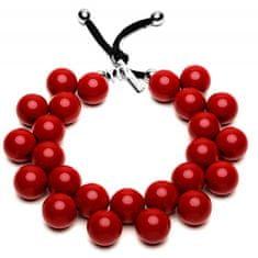 Ballsmania Originální náhrdelník C206 19-1557 Rosso Peperone