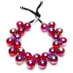 Ballsmania Originalna ogrlica C206S Vijolična strast